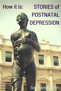 What is postnatal / postpartum depression really like? Check out this series for some insight | Sacraparental.com