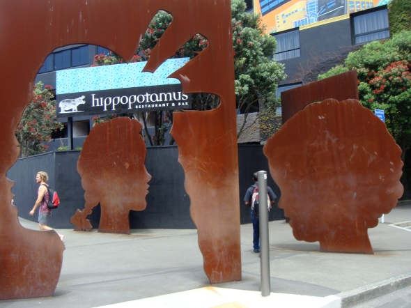 Per Capita, 2006, Cathryn Munro, corner Cable and Tory Streets, Wellington