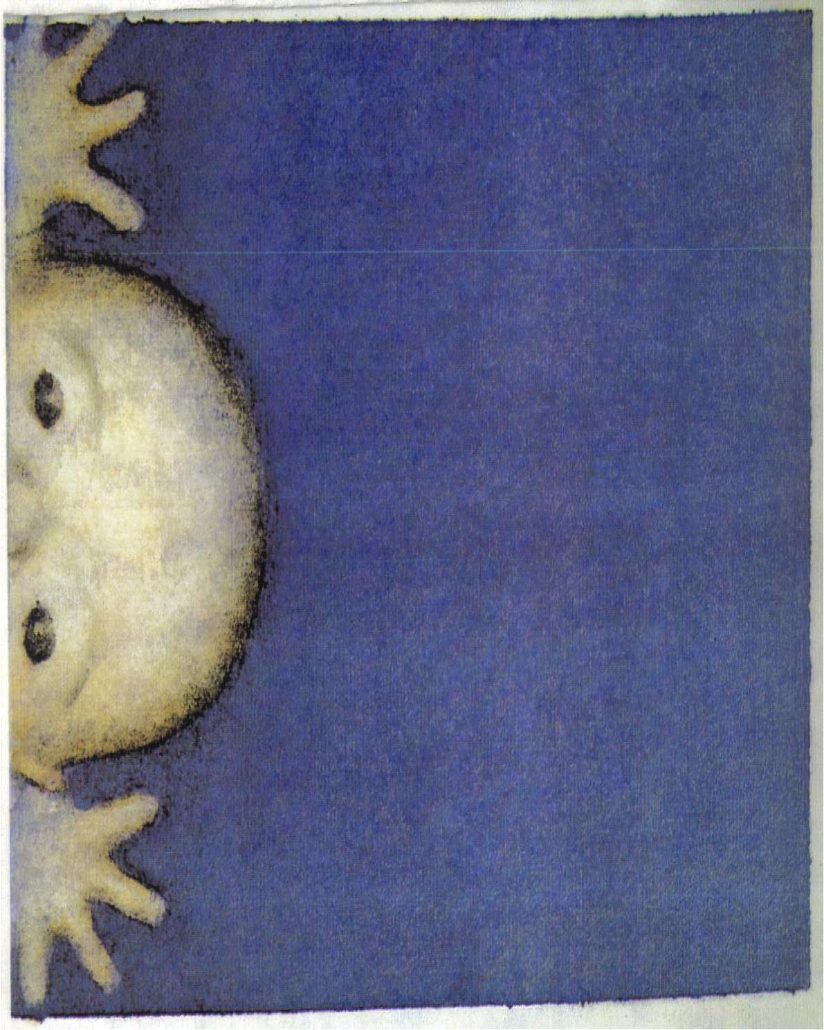 Illustration from The Nativity, 1988, Julie Vivas