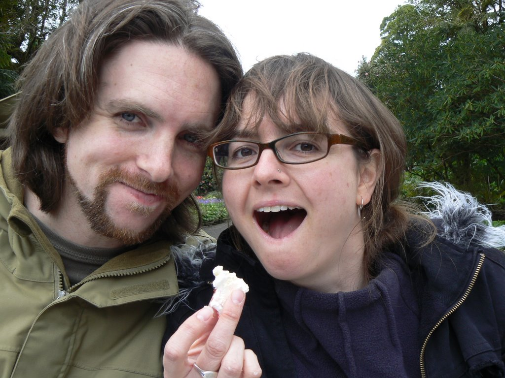 My favourite photo of Kent and me.
