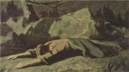 Christ in Gethsemane, Vasily Perov