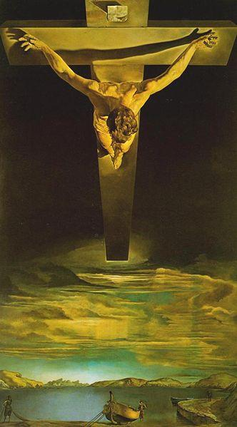 Christ of Saint John of the Cross, Salvador Dali