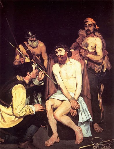 Jesus Mocked by Soldiers, Edouard Manet