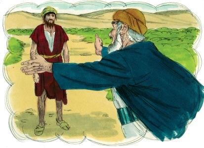Illustration of Luke 15:20 from http://distantshoresmedia.org/ CC