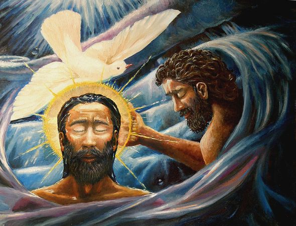 Baptism of Christ, Davezalenka CC