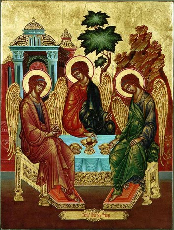 Trinity, Andrej Rublev, c 1411