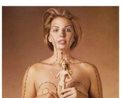 Check out this cool collection of artistic responses to how ridiculous Barbie's proportions are | Sacraparental.com