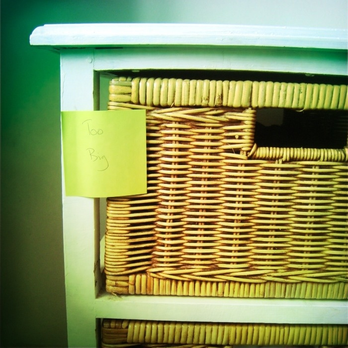 11 best home organising tips - too big, too small drawers   Sacraparental.com