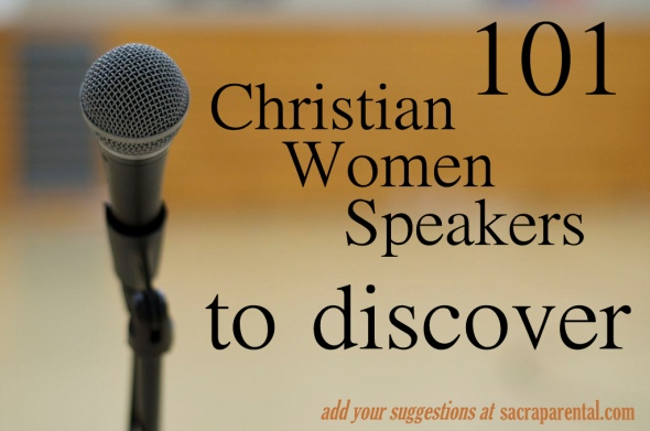 Christian parenting, feminist parenting, Christian women speakers and preachers, Rachel Held Evans list of women speakers
