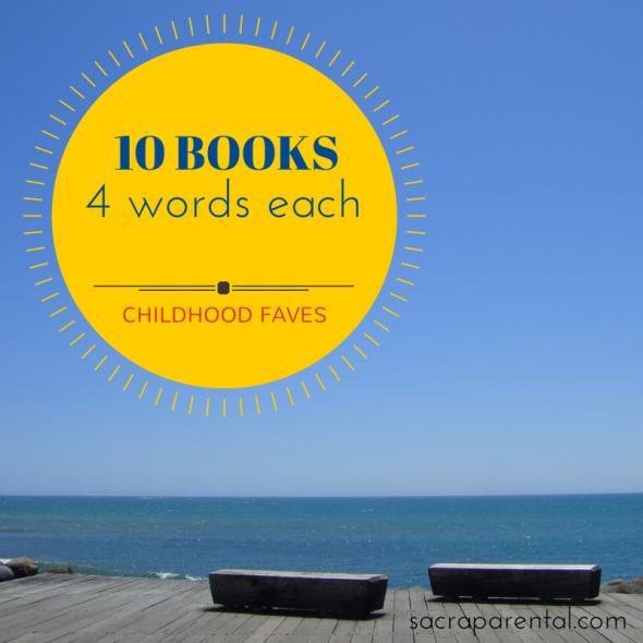 10 books, 4 words each