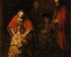 Rembrandt's Return of the Prodigal, Lent with Kids, Sacraparental, Christian parenting blogs, New Zealand parenting blogs, family spirituality