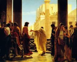 Antonio Ciseri, Ecce Homo   Pilate's Wife poem by Carol Ann Duffy   Sacraparental.com