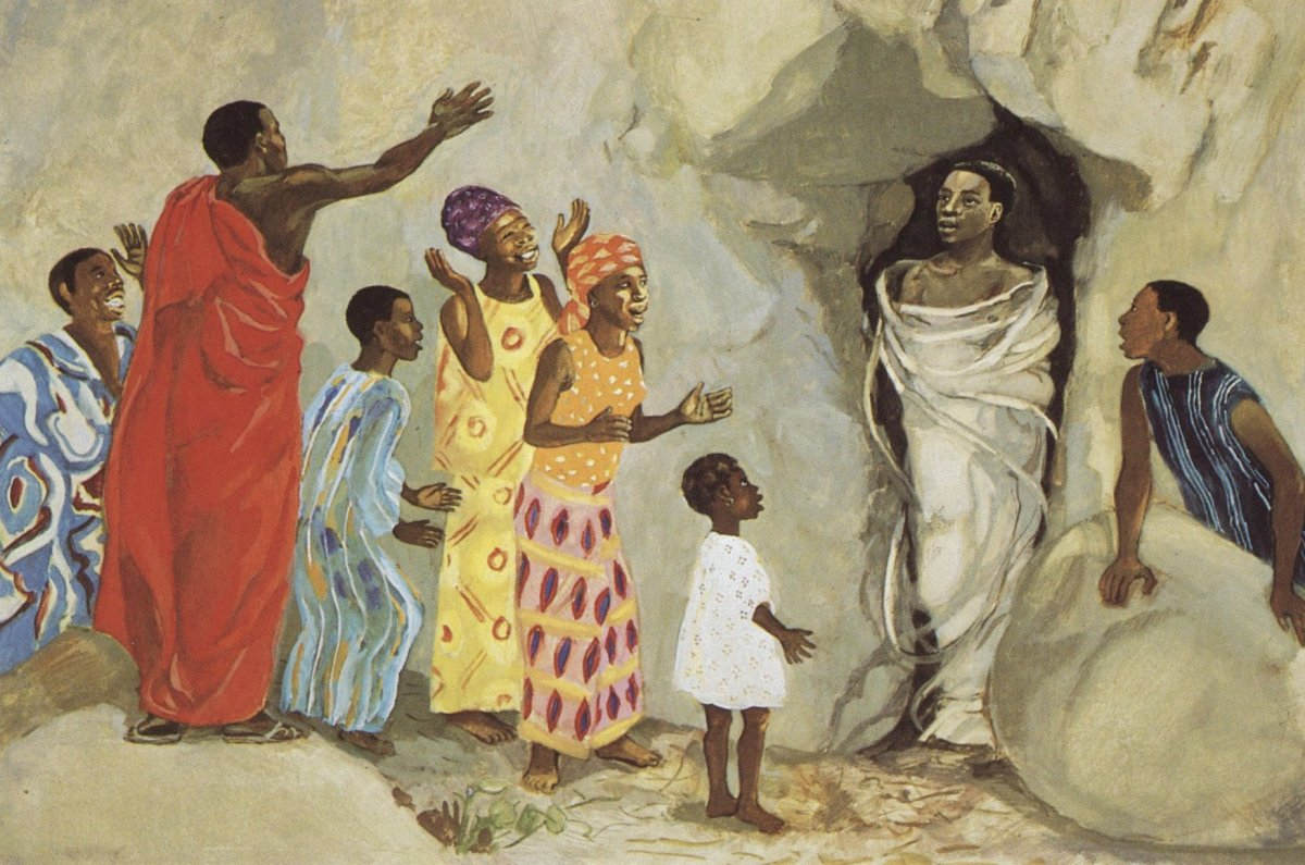 Lent with Kids, Week 5: Jesus is in Charge of Life