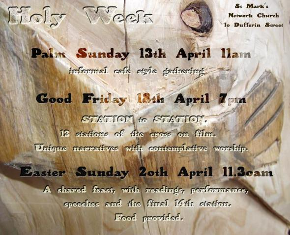 Stations of the Cross, Easter Feast, St Marks Network Church Wellington