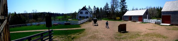 Green Gables farm in Cavendish, Prince Edward Island | Re-reading Anne of Green Gables | Sacraparental.com