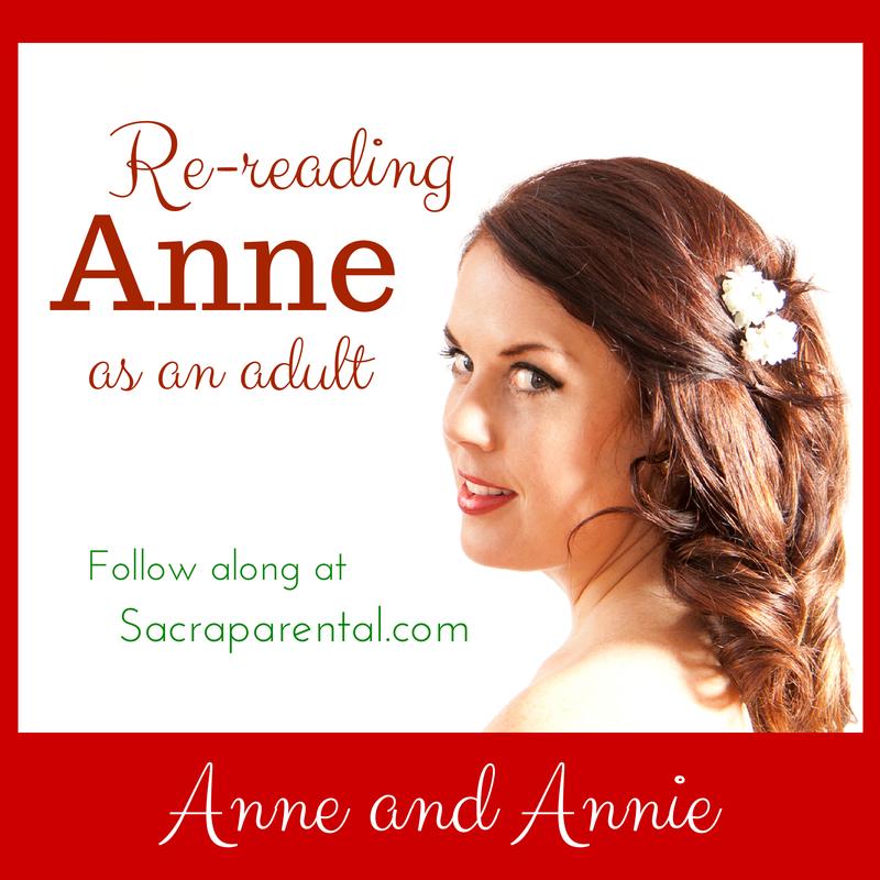 Annie and Anne of Green Gables   Sacraparental.com