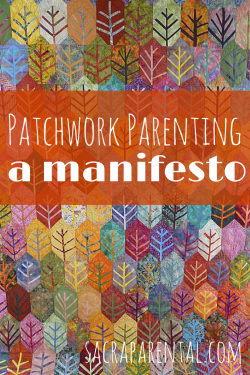Join in our patchwork quilt of parenting ideas | Sacraparental.com | Indian Summer quilt by Bernadette Mayr