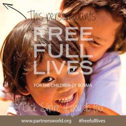 Partners Relief and Development: Free, full lives for the children of Burma   Sacraparental.com