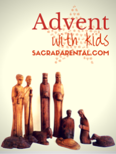 Advent with kids! Lots of ideas for celebrating at home | Sacraparental.com