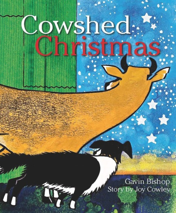 Advent with Kids: one of my favourite kids' books for Christmas: Cowshed Christmas, Joy Cowley and Gavin Bishop | Sacraparental.com