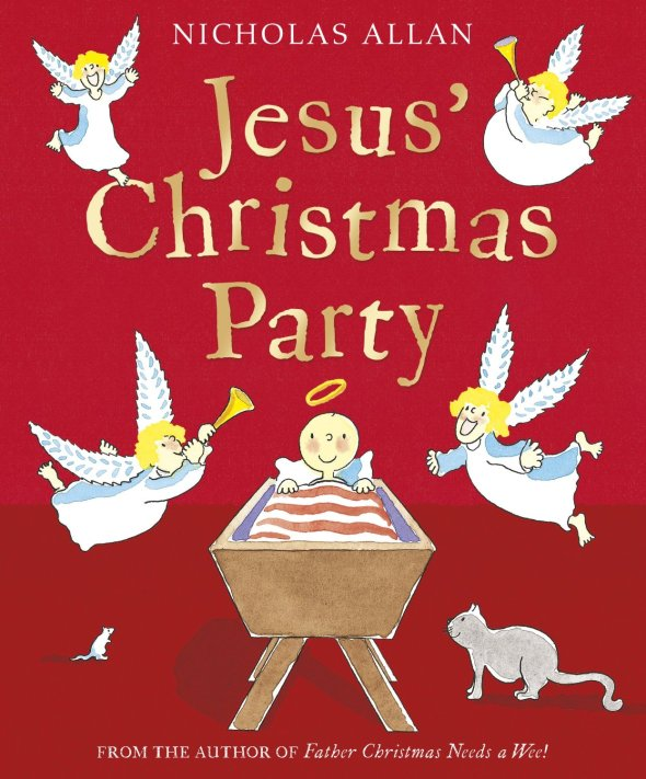 Advent with Kids: one of my favourite kids' books for Christmas: Jesus' Christmas Party, Nicholas Allan| Sacraparental.com