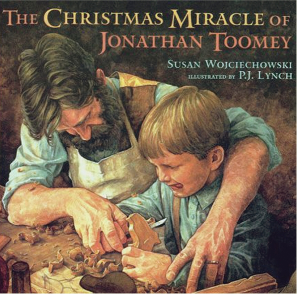 Advent with Kids: My favourite Christmas story book: The Christmas Miracle of Jonathan Toomey, Susan Wojciechowski, PJ Lynch | Sacraparental.com