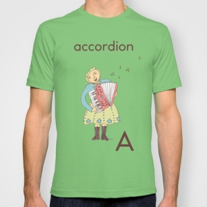 A crazy alphabet t-shirt from Auckland designer Carmel Wonder (available worldwide) would be great on your shopping list!