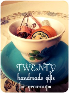 20 handmade gifts for grown-ups - such a cool collection   Lulastic and the Hippyshake