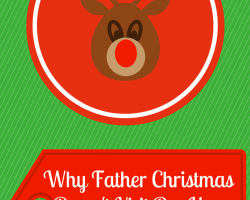 Why Father Christmas Doesn't Visit Our House | Sacraparental.com