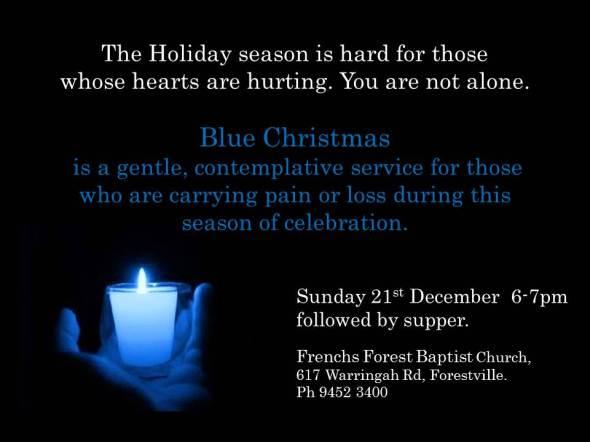 An online Blue Christmas service, for those who are hurting | Sacraparental.com
