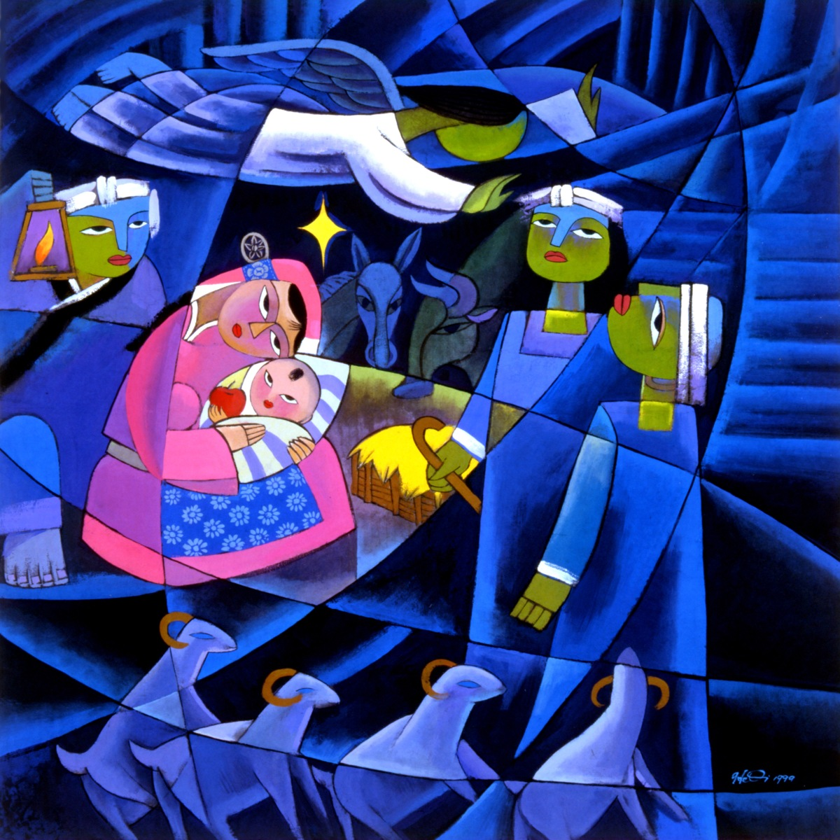 Advent in Art with He Qi: Nativity