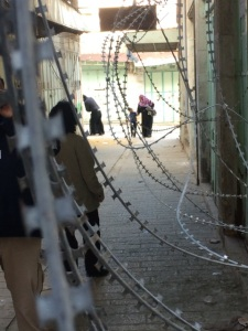A minister visits Palestine and Israel. Image copyright Chris Chamberlain | Sacraparental.com